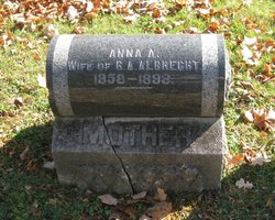 Anna Auguste <i>Thurmann</i> Albrecht