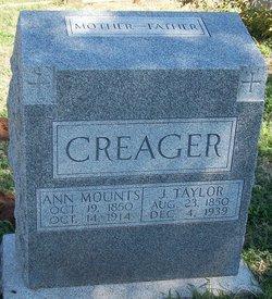 Nancy Ann <i>Mounts</i> Creager