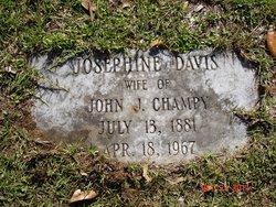 Josephine <i>Davis</i> Champy