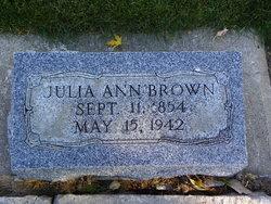 Julia Ann <i>Dean</i> Brown