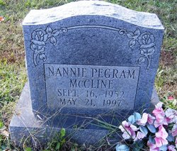 Nannie <i>Pegram</i> McCline
