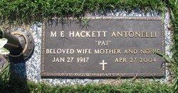 Mary Emma Pat <i>Hackett</i> Antonelli