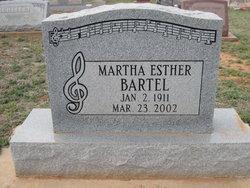 Martha Esther Bartel
