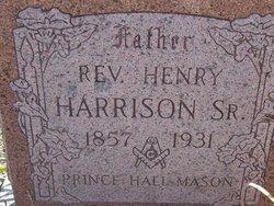 Rev Henry Harrison, Sr