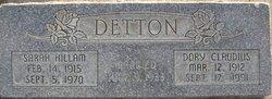 Dorris Claudius Detton