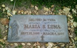 Maria <i>Salas</i> Luna