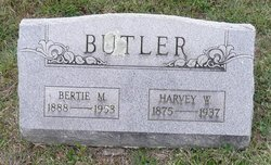 Harvey W Butler