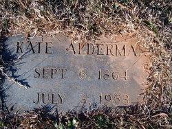 Catherine Kate <i>Jackson</i> Alderman