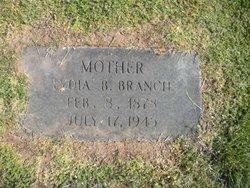 Lydia Belle <i>Daughtry</i> Branch