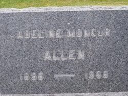 Adeline Addie <i>Moncur</i> Allen