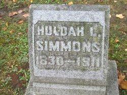 Hulda Louisa <i>Power</i> Simmons