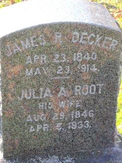Julia A <i>Root</i> Decker