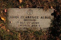 John Clarence Albus