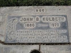 John Bolivar Kulbeth, Sr