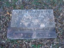 Katherine Ophelia <i>Crawford</i> Hastey
