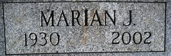 Marian Jean <i>Bohnsack</i> Billings