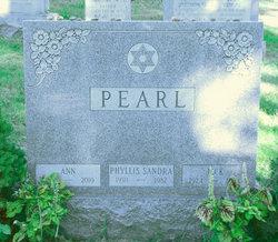 Ann <i>Zipkin</i> Pearl