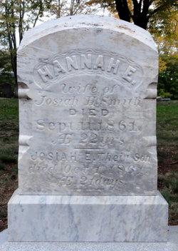 Hannah E <i>Wescott</i> Smith