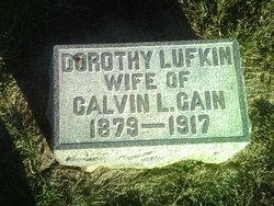 Dorothy <i>Lufkin</i> Cain