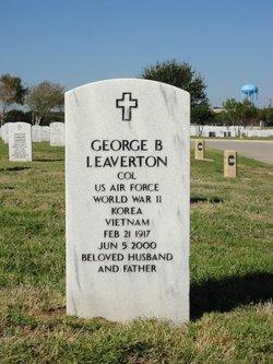 George B Leaverton
