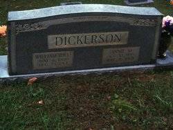 Anna McKinley Annie <i>Dunham</i> Dickerson