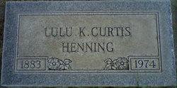Talulah Katherine Lulu <i>Parrish</i> Henning