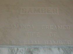Amanda <i>Creamer</i> Bamber