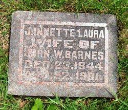 Jannette Laura <i>Miller</i> Barnes