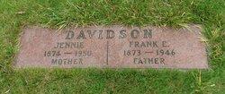 Jennie Lillian <i>Manning</i> Davidson
