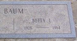 Betty Louise Baum