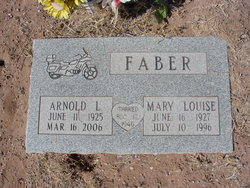 Mary Louise Faber