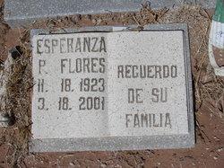 Esperanza P Flores