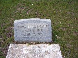 Wilma <i>DeLoach</i> Bacon