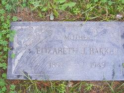 Elizabeth <i>Jones</i> Barker