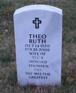 Theo Ruth <i>Colson</i> Thomsen