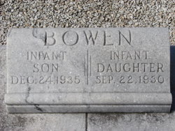 Infant Son Bowen