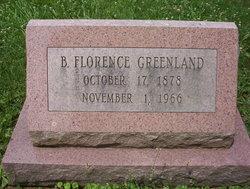 Bertha Florence Greenland