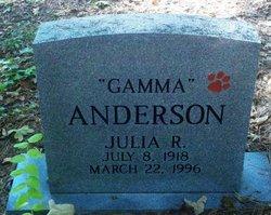 Julia R. Gamma Anderson