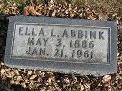 Ella L Abbink