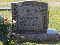 Shirley <i>Webb</i> Anderson