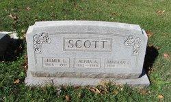 Alpha A <i>Reed</i> Scott