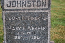 Mary E <i>Weaver</i> Johnston