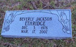 Beverly <i>Jackson</i> Ethridge