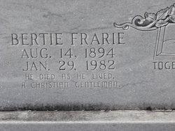 Bertie Frarie Bowen