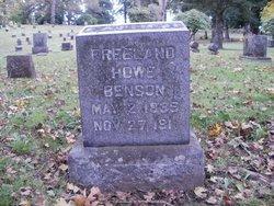Freeland Howe Benson