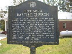 Bethabra Baptist Church Cemetery (new)