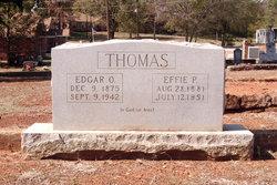 Edgar O. Thomas