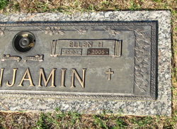 Ellen Eva Marie <i>Harney</i> Benjamin