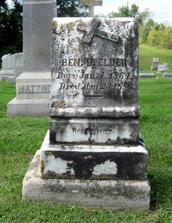 Benedict Alphonsus Ben D Elder