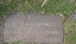 Sgt Thomas Tad Tom Brown